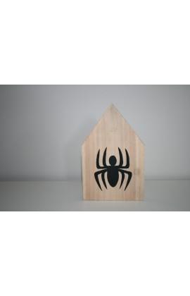 Houten huisje Spiderman