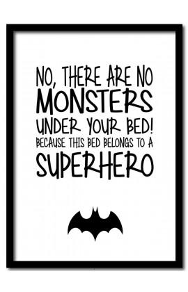 Batman Monsters / A4