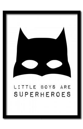 Little boys are Superheroes / A4