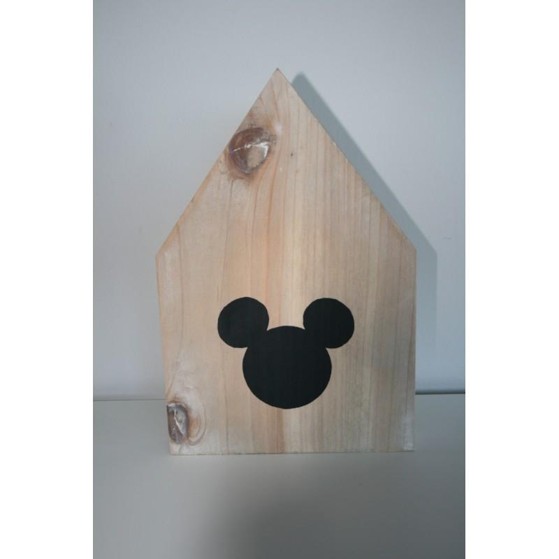 Houten huisje Mickey Mouse Large