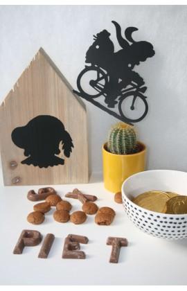 Houten Huisje Zwarte Piet