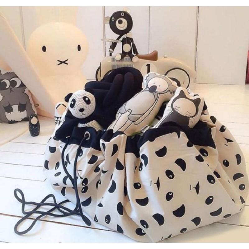 Draagbare Panda Opbergtas Speelkleed