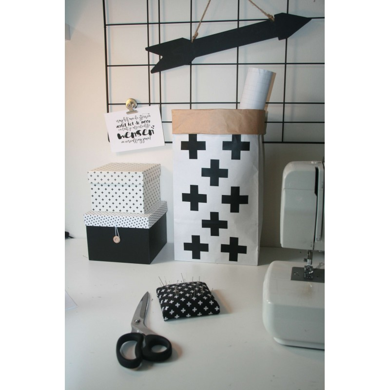 Paperbag XS Plusjes
