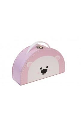 Koffertje Roze Ijsbeer