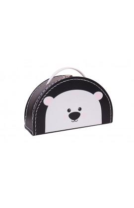 Koffertje Zwart Ijsbeer
