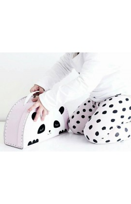 Koffertje Roze Panda