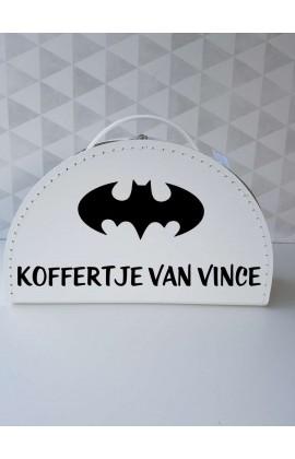 Koffertje Batman met Naam