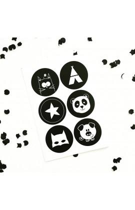 Stickervel Kids / 12 stuks